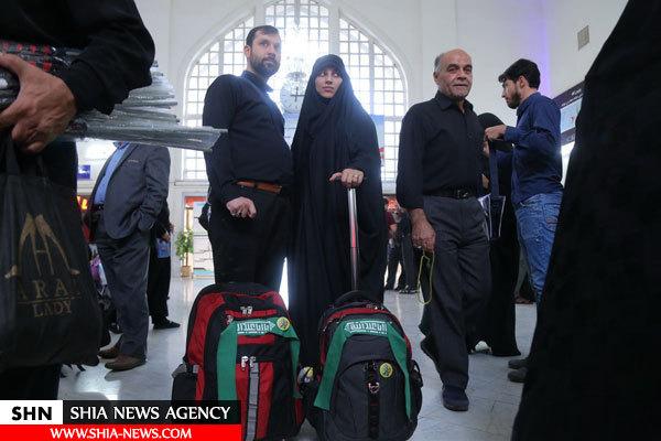 قطار قم_کربلا به سمت اربعین حسینی
