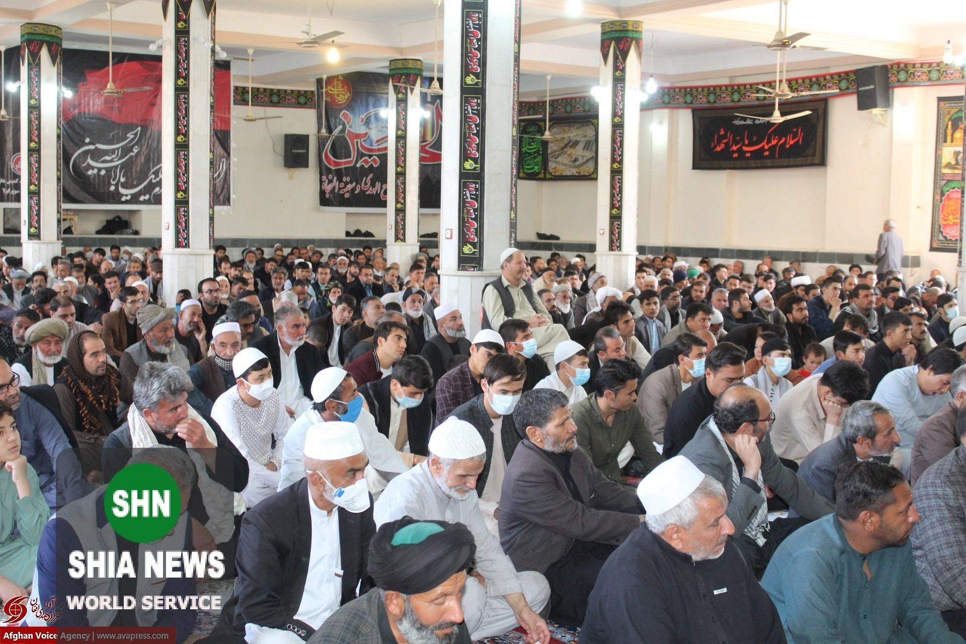 مراسم اربعین حسینی در حسینیه بیتالجواد(ع) هرات