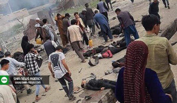 انفجار تروریستی خونین در دبیرستان دخترانه در محله شیعه نشین کابل
