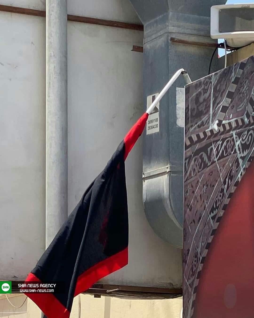 حمله نیروهای آل خلیفه به نمادهای عاشورایی+ تصاویر